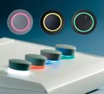 Ovládací knoflíky s osvětlením LED